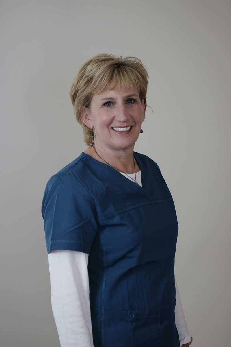 Headshot of clinic staff member Elaine, RN
