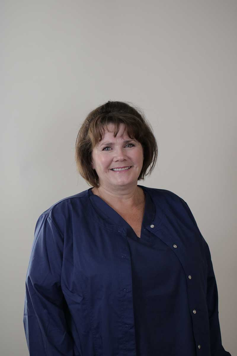 Headshot of clinic staff member Traci